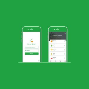 Second Harvest mobile app design and UX