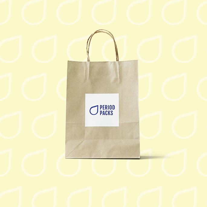 period packa non-profit branding