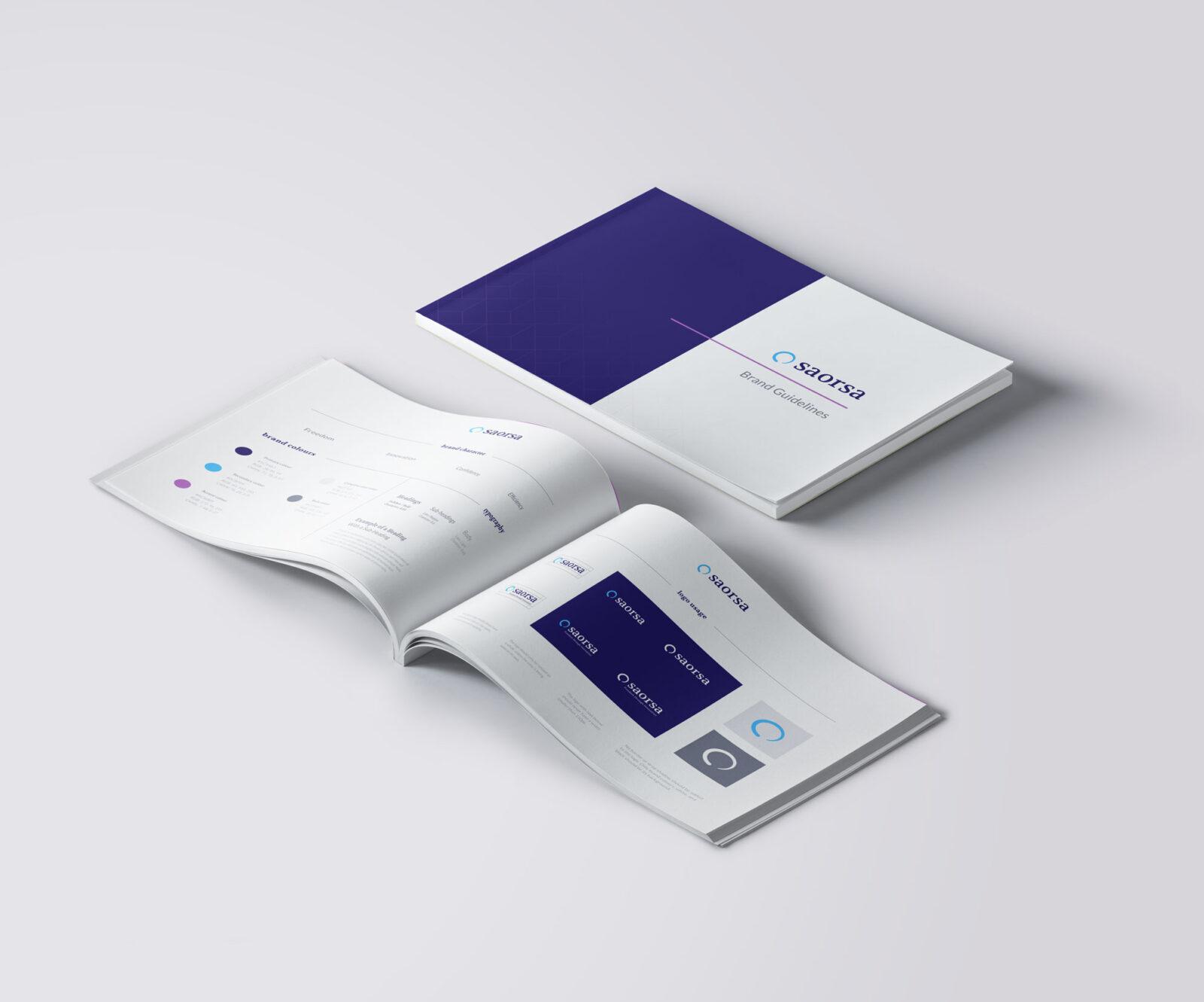saorsa healthcare branding